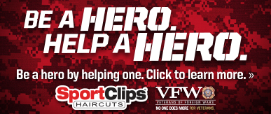 Sport Clips Frisco- Gaylord​ Help a Hero Campaign